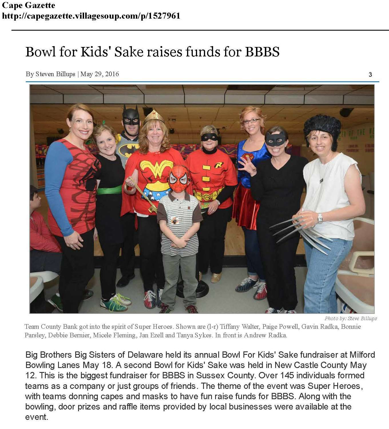 Bowl for Kids' Sake raises funds for BBBSSteven Billups - CapeGazette_Page_1